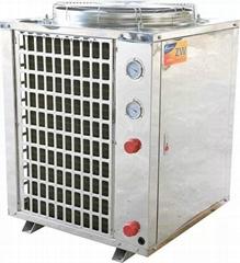 聚腾空气能热水器工程5匹
