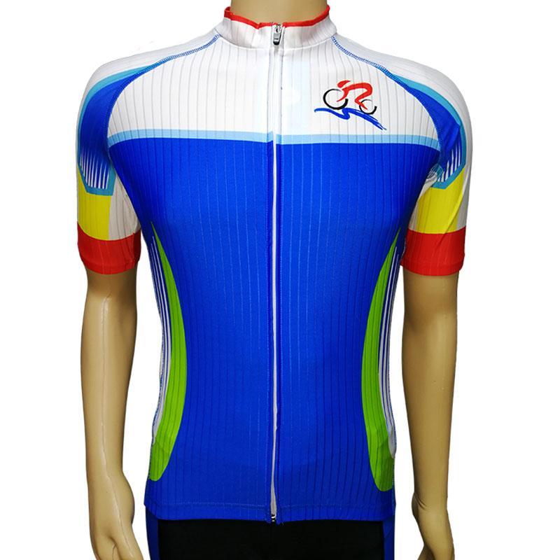 骑行服套装男女短袖夏季单车服山地自行车衣服速干骑行短裤 1