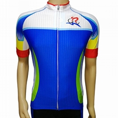 骑行服套装男女短袖夏季单车服山