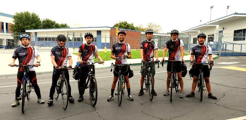 骑行服男 山地车公路车夏季短袖速干自行车骑行服套装 4
