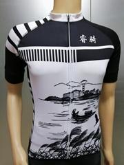 春夏季骑行服套装公路山地车自行车短袖短裤速干上衣男服装