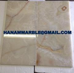 White Gold  Onyx Tiles