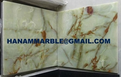 Light Green Onyx Tiles