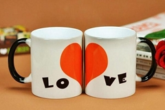 Creative and custom logo mug