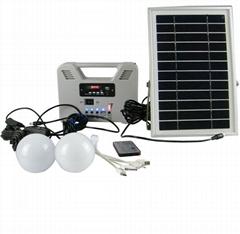 N800太阳能家用发电小系统