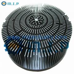 """7.16"""" 60W round aluminum forging heatsinks"""