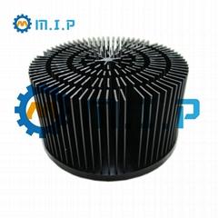 120mm forged aluminum led heatsink