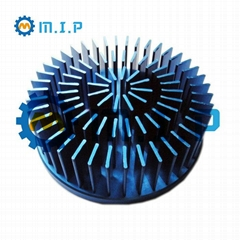 118mm round forged led cooler