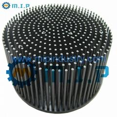 "7.09"" 100W round aluminum forging led cooler"