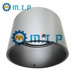 machined round aluminum tube for lighting