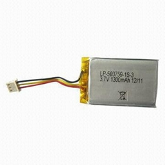 Li-polymer Rechargeable Battery Pack