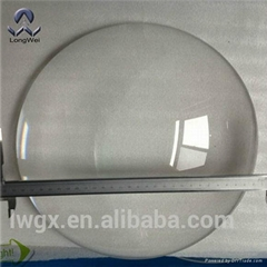 Diameter 300mm to 500mm large plano Convex glass  Lens for Optical instruments