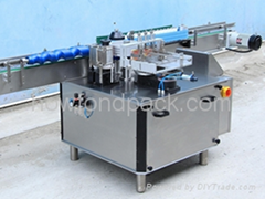 liquid adhensive  labeling machine for glass  bottles