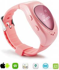 心形GPS儿童一键求助定位手表QED-T06