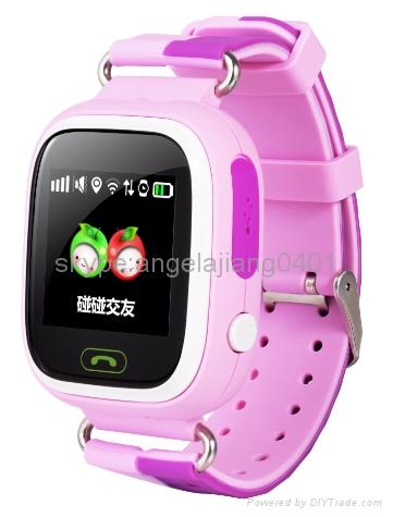 Hot Selling Children Smart Watch GPS,LBS ,WIFI Tracker for Boys &Girls Google ma 1