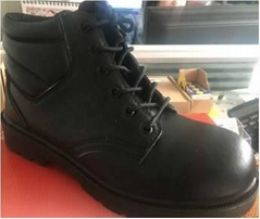 geniune leather safety shoes for workers