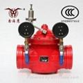 鑫海鹰沟槽减压阀ZSJF150-MP-1.6(G) HY200X-16球磨铸铁 2