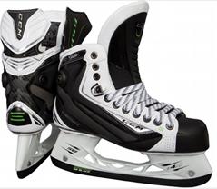 CCM Ribcor 50K White Ice Skates
