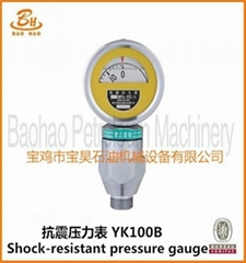 API Mud Pump Double Scale Pressure Gauge