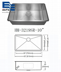 top 5 Stainless Steel Kitchen Sinks 32 X 19