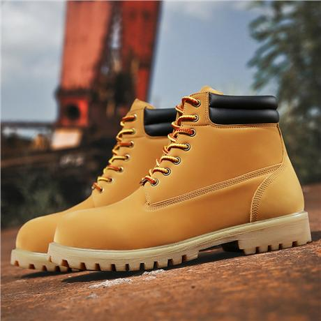 Brand-new Wheat Waterproof leather  Mens Boots 2
