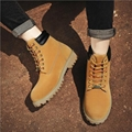 Brand-new Wheat Waterproof leather  Mens Boots 4
