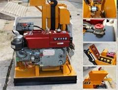 HR1-25 soil clay earth interlocking lego brick making machine in Vietnam