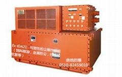 油田柱塞泵控制用ABB防爆变频器