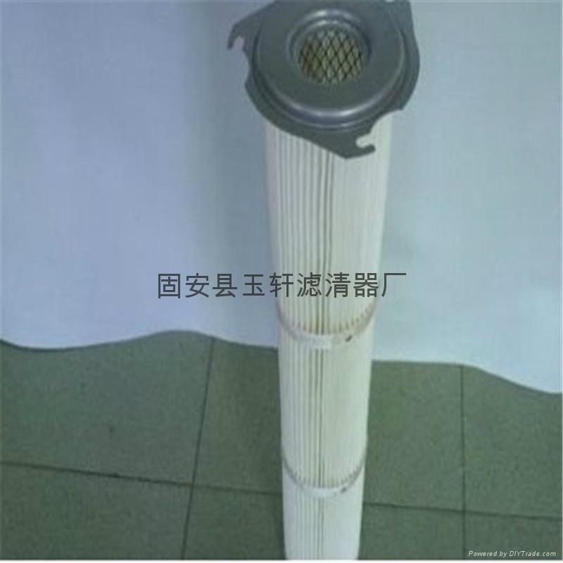 攪拌站水泥倉頂除塵器濾芯 1