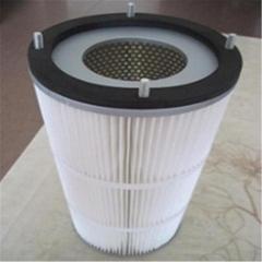 噴塗3266除塵濾芯粉末回收濾筒