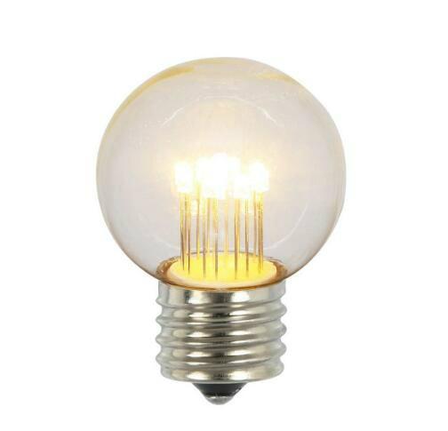 G50 Globe LED E26 Glass Bulb  1