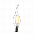 1.5W E14 Filament LED candle bulb