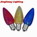 C7 E12 LED Christmas bulbs