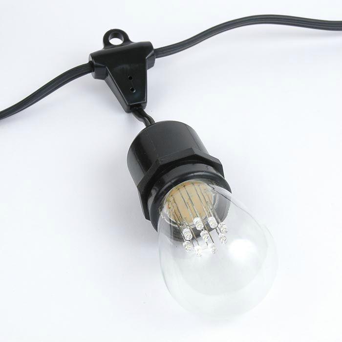 Patio String Light IP65 outdoor LED S14 Light Bulbs  1