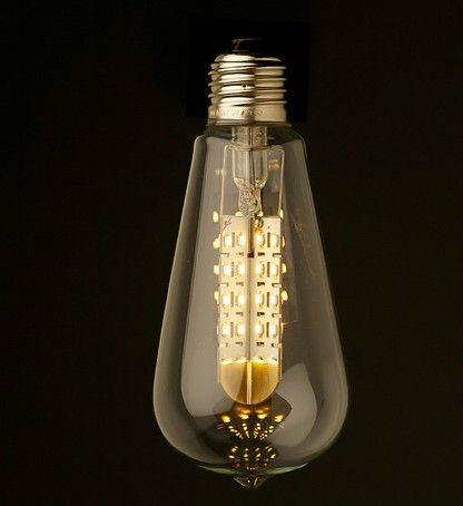 ST64 Antique Edison LED Light Bulb  1