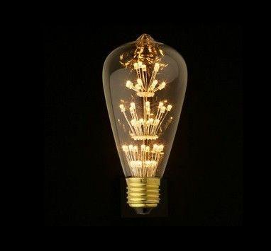 ST64 LED edison light bulbs  1