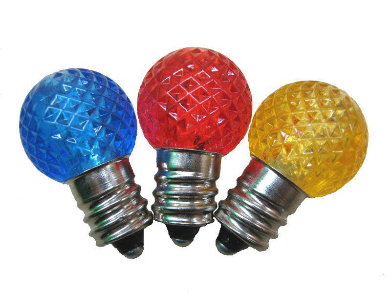 E12 LED G20 LIGHT BULBS  1