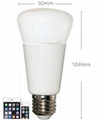 RGB E27 WIFI LED smart light bulbs