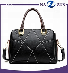Fashion elegance ladies handbag custom high quality women pu leather handbags