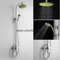 59 bronze ware green shower shower