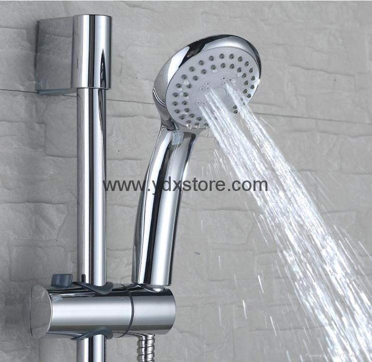 Simple copper shower set 2