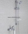 Simple copper shower set 9