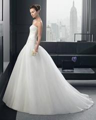Ball Gown Organza Flowe