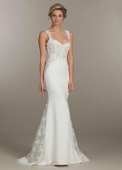 Elegant White Straps Cou