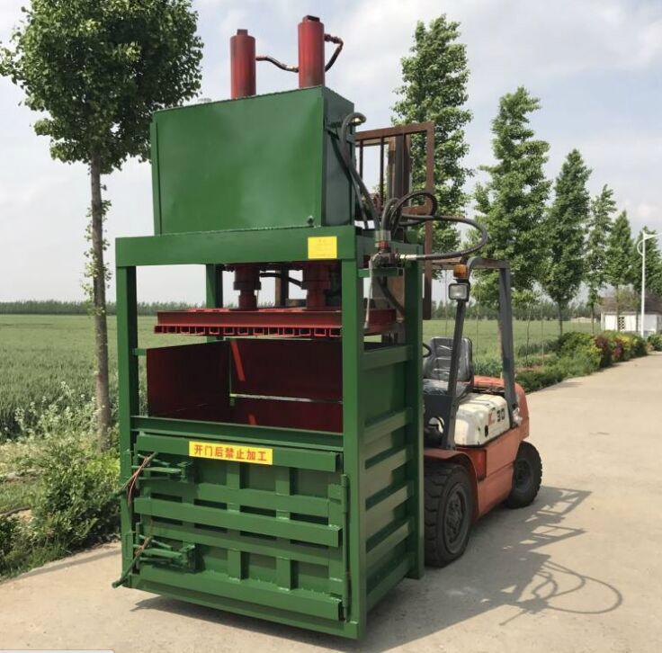 Fully automatic hydraulic press/wool/waste paper board press machine 2