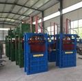Semi-automatic hydraulic press, plastic