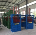 Semi-automatic hydraulic press, plastic bottle hydraulic press