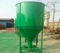 Vertical mixing feed pulverizing mixer,