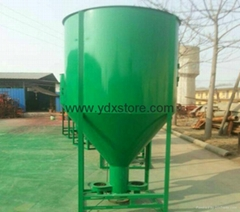Vertical mixing feed pulverizing mixer, cattle feed pulverizing mixer