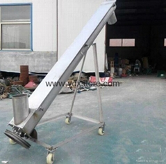 304 stainless steel screw lifting machine/flour hoist/feed particle elevator